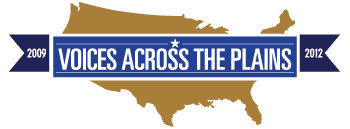 Voices Across the Plains [logo]